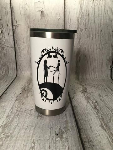 91a1ffd6f0e Nightmare Before Christmas Tumbler | Personalized Gifts | Christmas ...