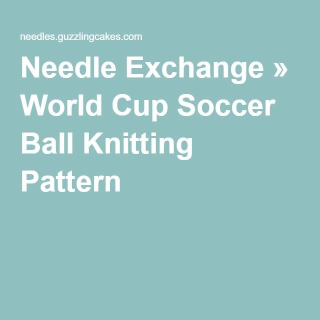 Soccer Ball Knitting Pattern Choice Image - handicraft ideas home ...