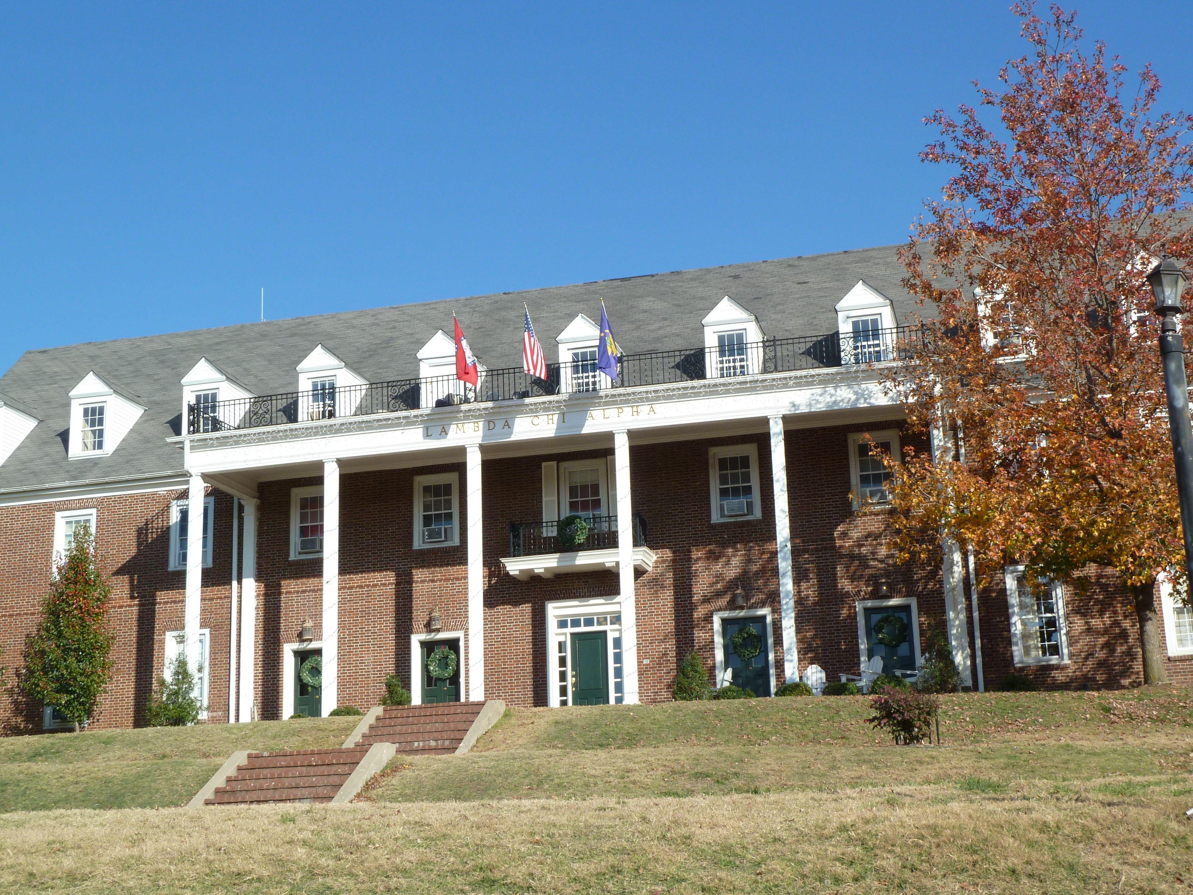 Lambda Chi Alpha Fraternity University of Arkansas