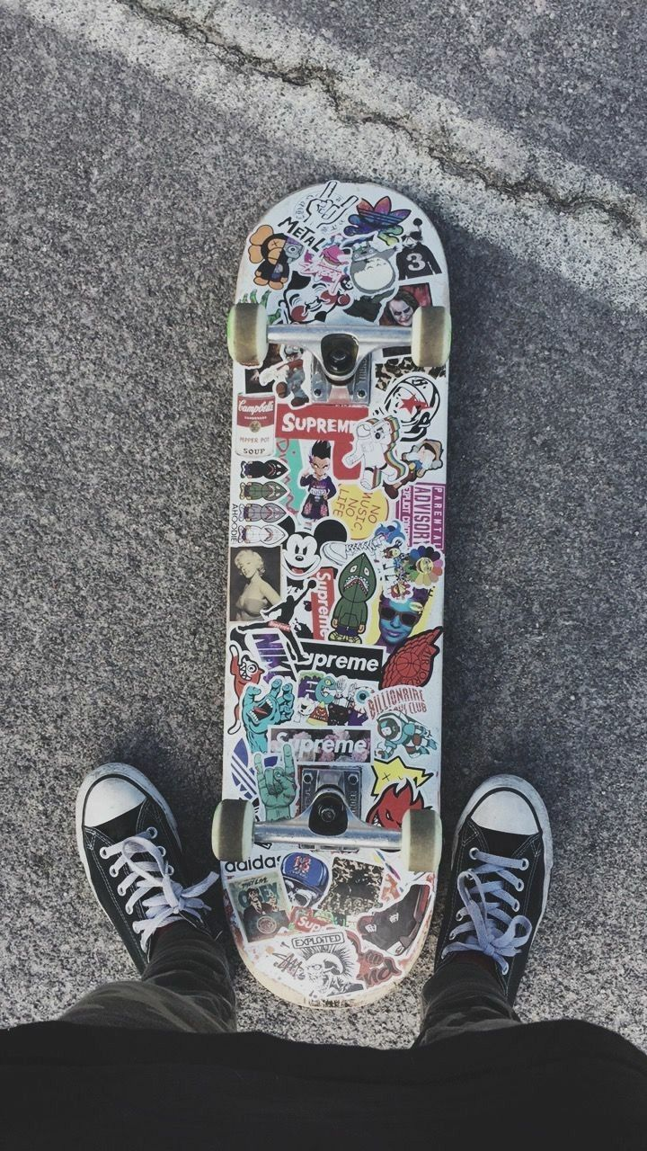 Aesthetic Penny Board Stickers