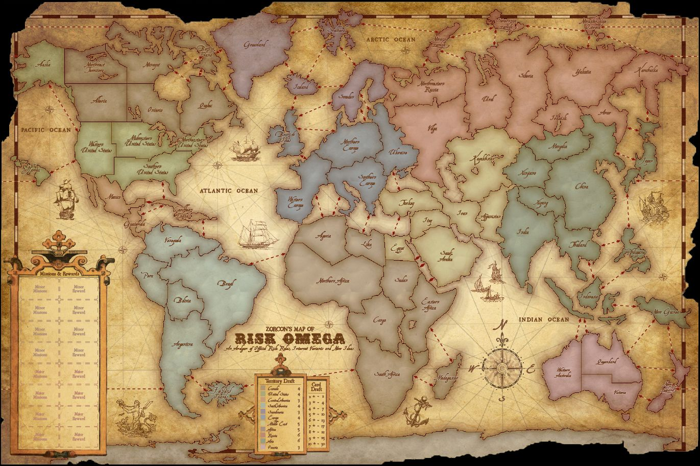 Zorcons word risk an unexpected journey part 4 garden the alliance wars maps should look more like maps from the game riskso of the games if you beat another allia gumiabroncs Image collections