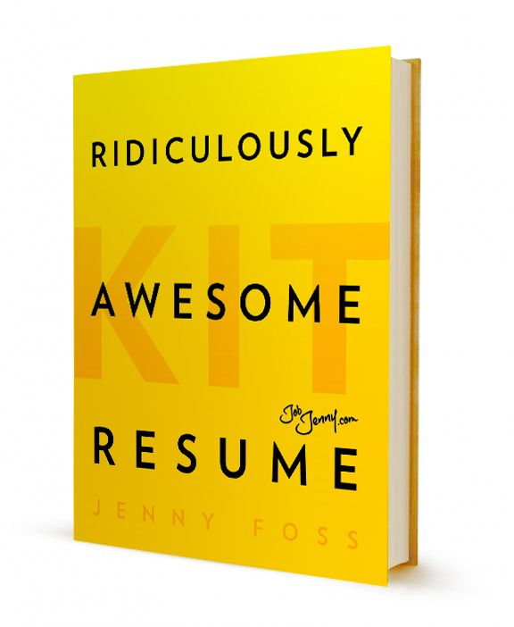 Ridiculously Awesome Resume Kit Job search, Book lists and Books
