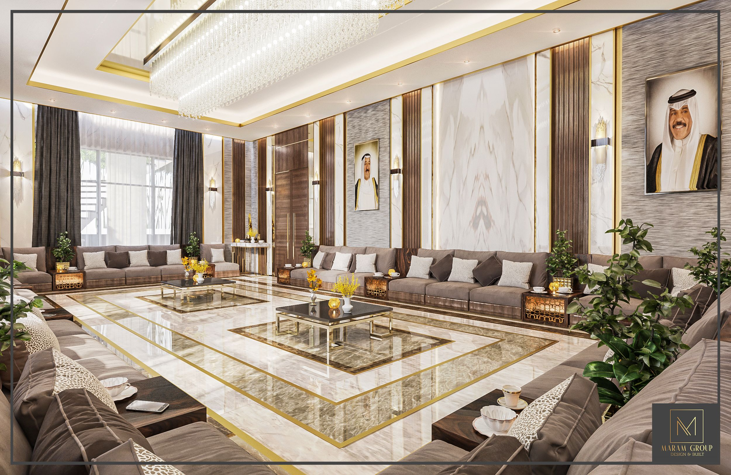 The Dewania Area Can Be An Important Element Of The House Living Room Design Decor Neoclassical Interior Design Living Room Decor Modern