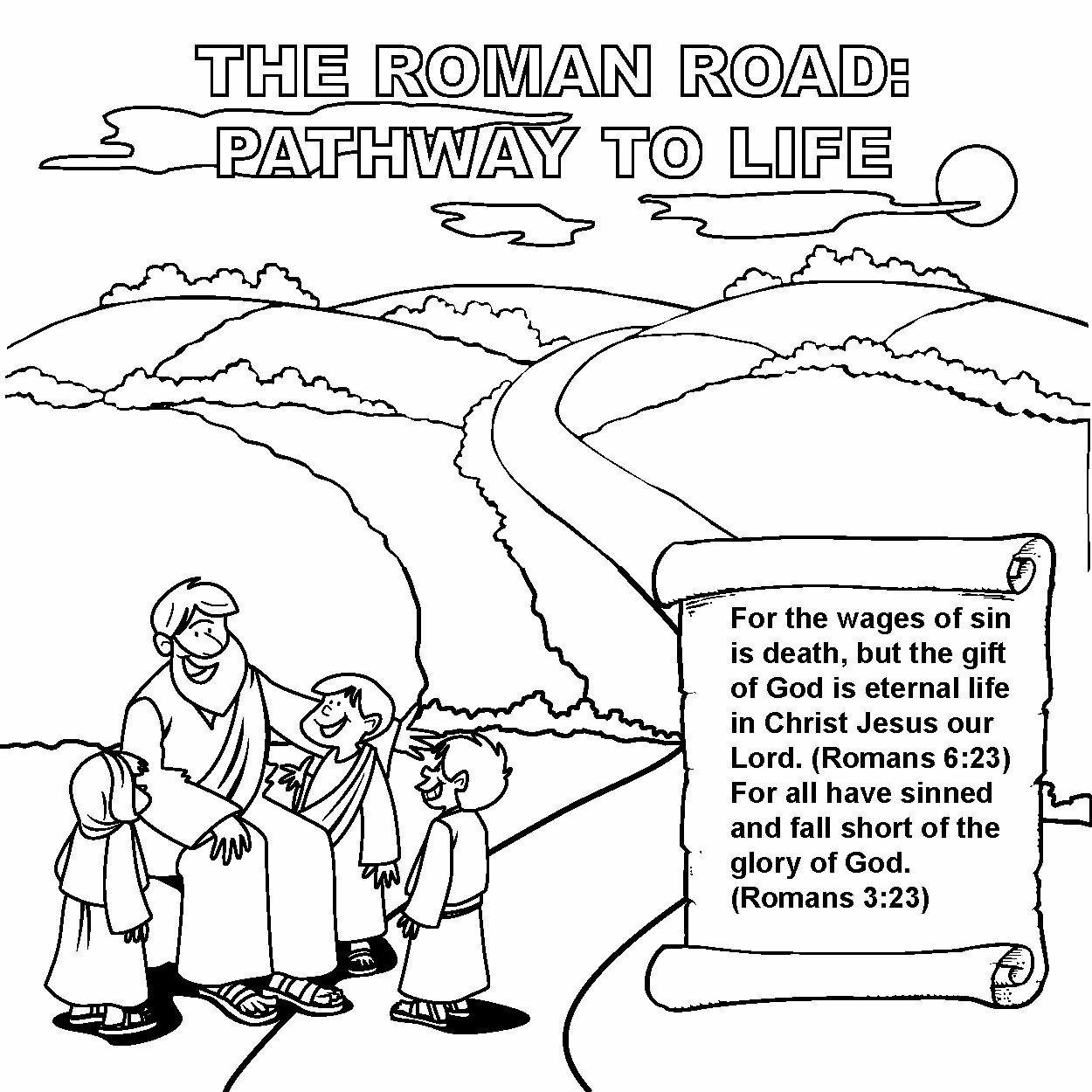 Roman Road Origami Designed Gospel Tract 12 Pk 30092b Roman Road