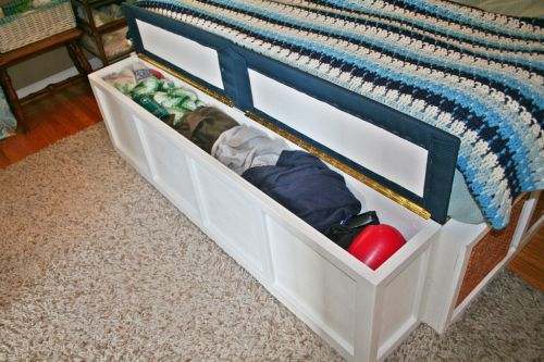 Wondrous Narrow Storage Bench For Foot Of Bed Diy Storage Bench Ibusinesslaw Wood Chair Design Ideas Ibusinesslaworg