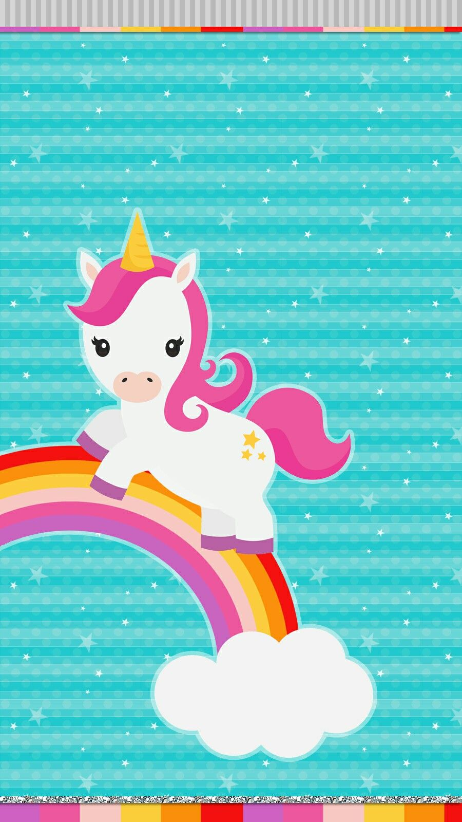 Unicorn Rainbow Wallpaper Iphone Android Unicorn Wallpaper