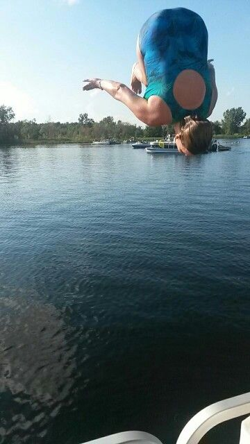 Always be young at heart <3 Lake Ponehma summer 2014