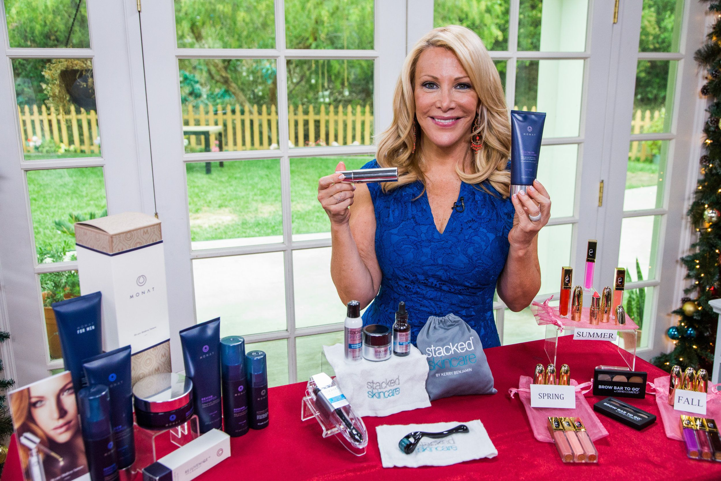 Kym Douglas is back with some very helpful products that will get your ready for those holiday parties.