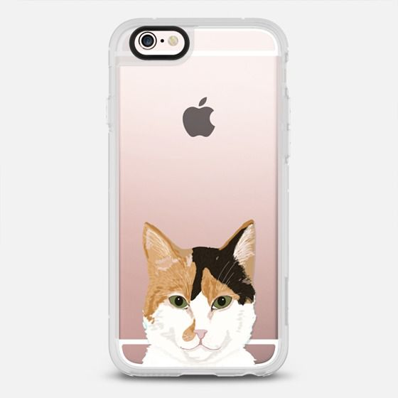 Orange and White Tabby Cat - Cute transparent iphone 6 case with cute cat for cat ladies, cat people, cat lovers, cat gift - New Standard Case