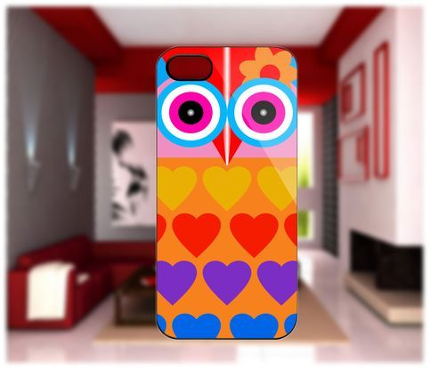 Owl Love iPhone cases 4/4S Case iPhone 5 Case Samsung Galaxy S2/S3/S4 Cases Blackberry Z10 Case from GlobalMarket
