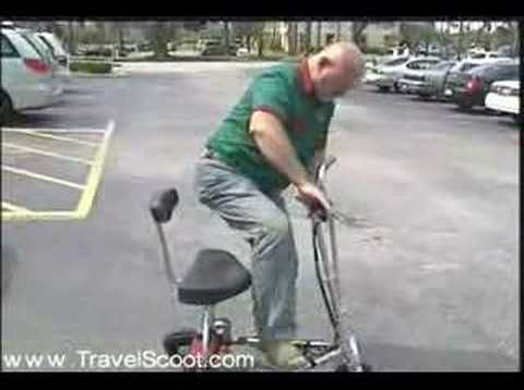 Lightweight Electric Mobility Scooter Travelscoot
