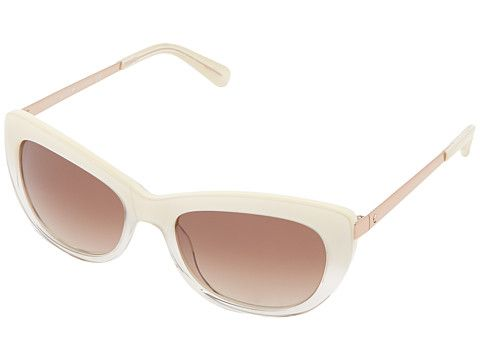 Kate Spade New York Jayna Ivory Fade/Olive Gradient - Zappos Couture