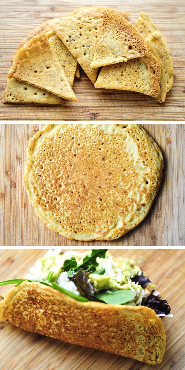 Chickpea Flour Tortillas Chips Taco Shells Gluten Free Vegan