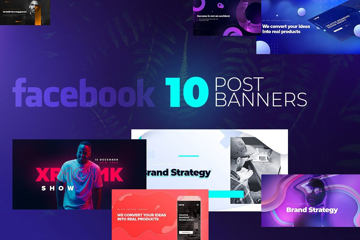 Facebook Post Banners V3 Facebook Templates Facebook Posts Templates