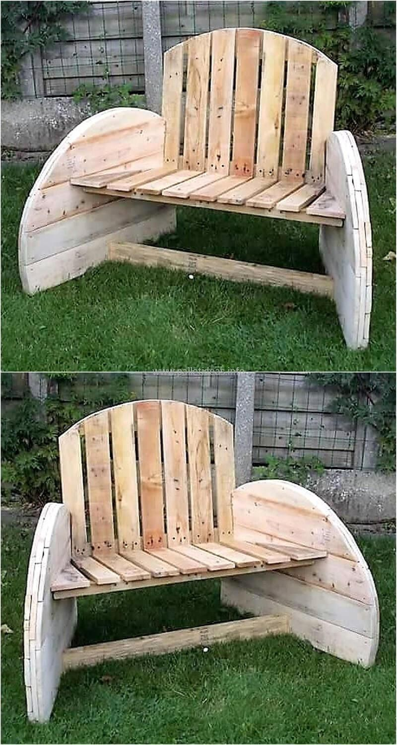 Awesome Pin By Sara Meza On Pallets Wooden Garden Benches Wood Pdpeps Interior Chair Design Pdpepsorg