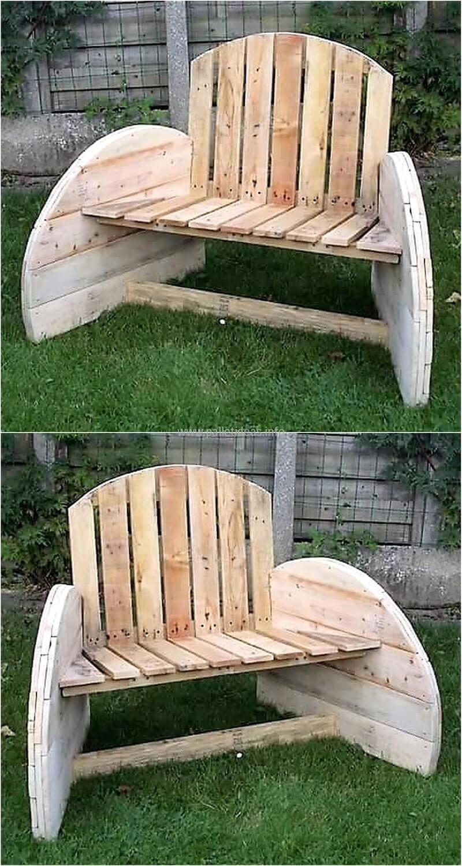 Peachy Pin By Sara Meza On Pallets Wooden Garden Benches Wood Machost Co Dining Chair Design Ideas Machostcouk