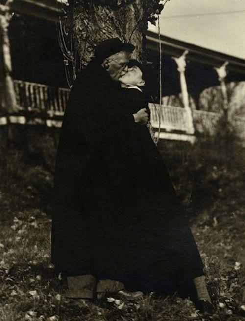 Alfred Stieglitz and Georgia O'Keefe, c1929