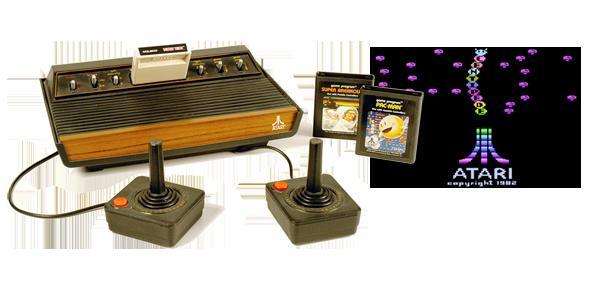 Atari 2600 Game System Atari Games Atari 2600 Games Atari