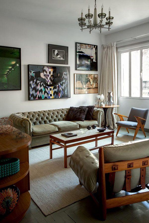 A Mid Century Modern Home In Brazil Plastolux Mid Century Modern House Interior Design House Design