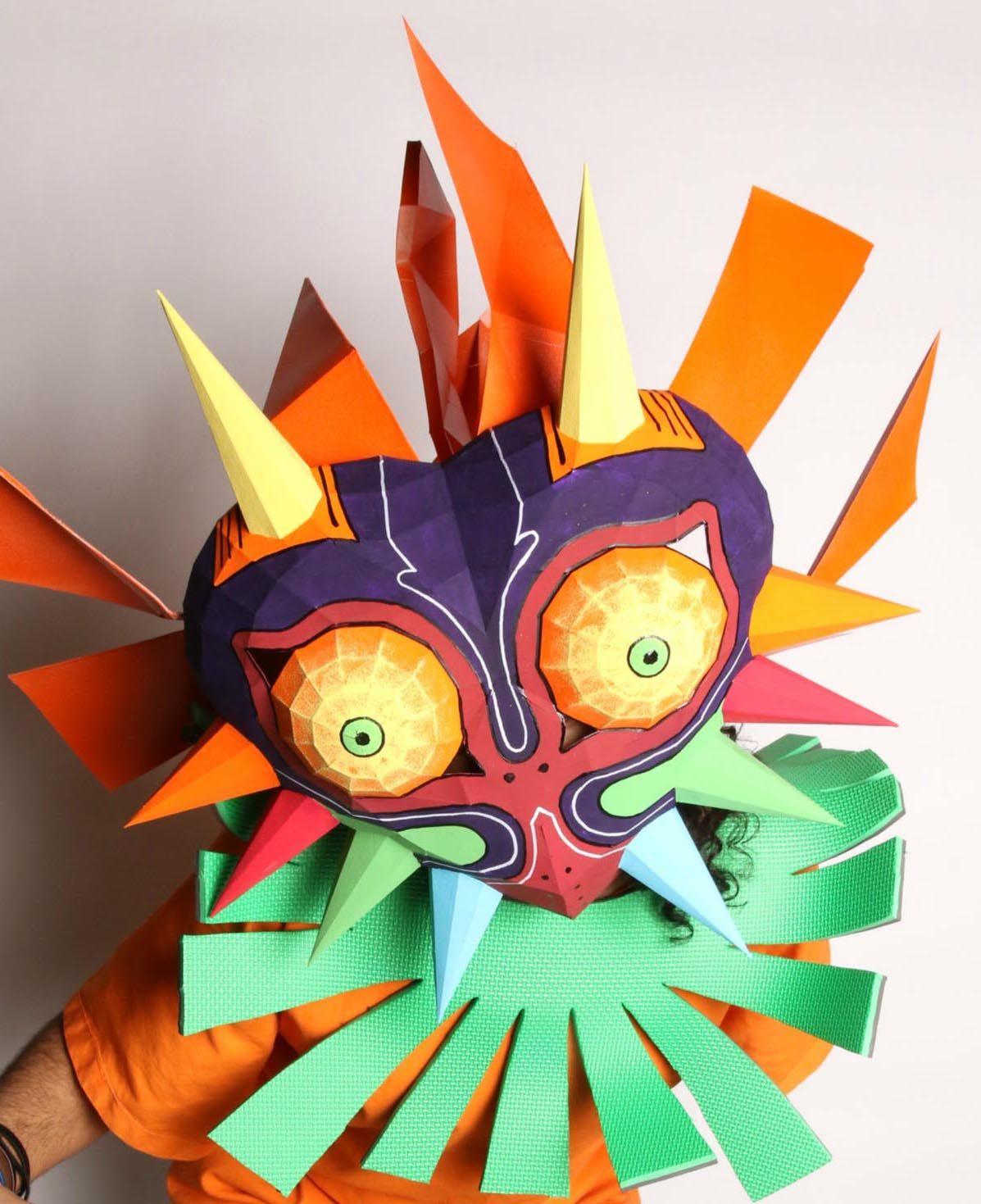 Zelda Majora\'s Mask Papercraft | Cumple