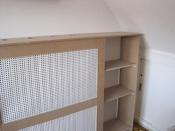 How To Build A Radiator Cover With Images Diy Radiator Cover