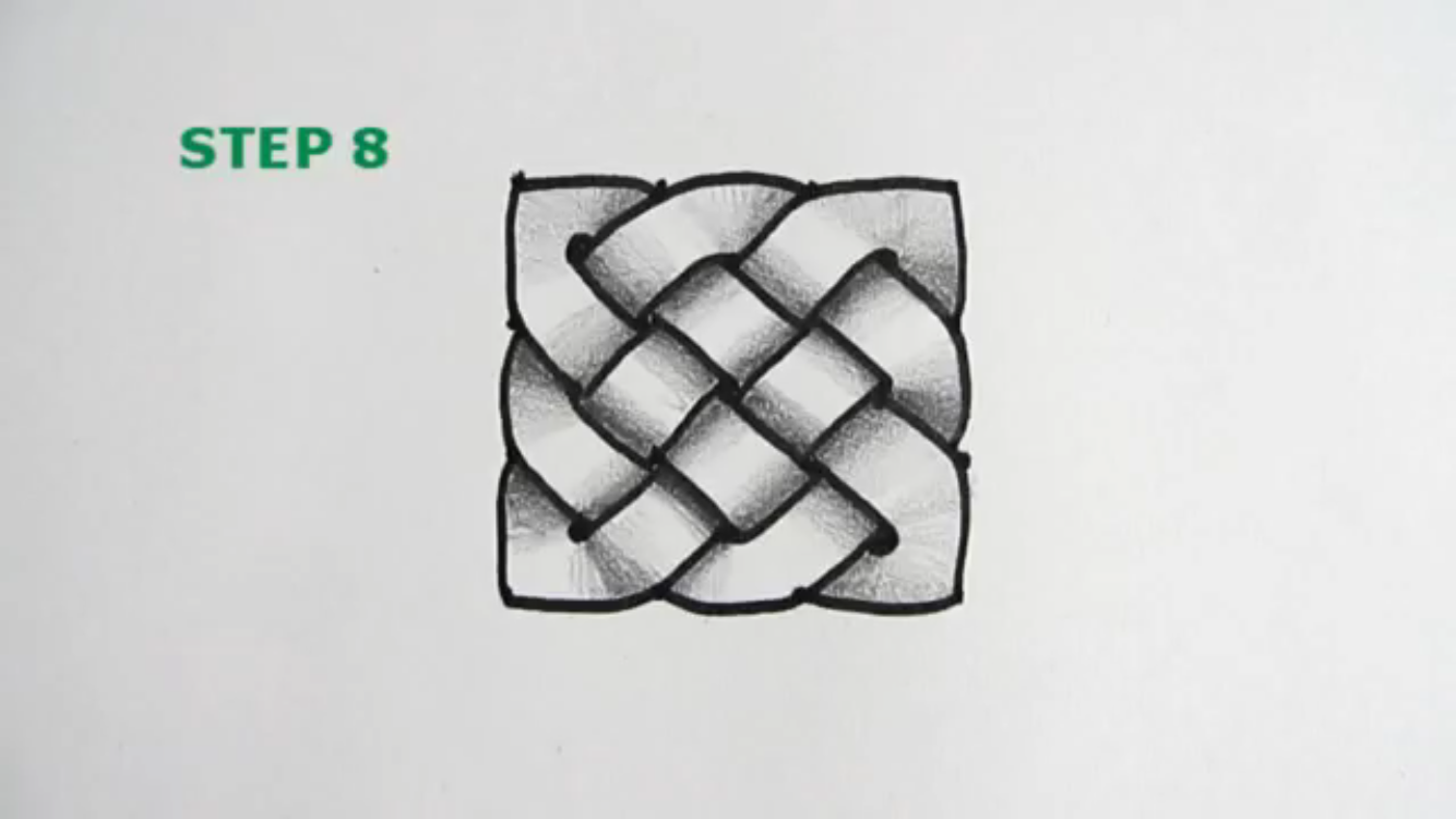 How to draw a celtic knot - Imgur