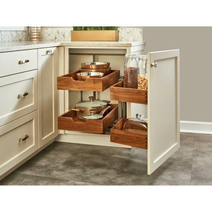 Blind Corner Cabinet Organizer | Diy kitchen storage ...