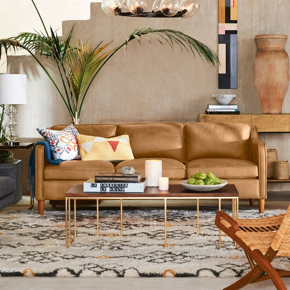 Hamilton Leather Sofa 81 Quot Leather Couches Living Room