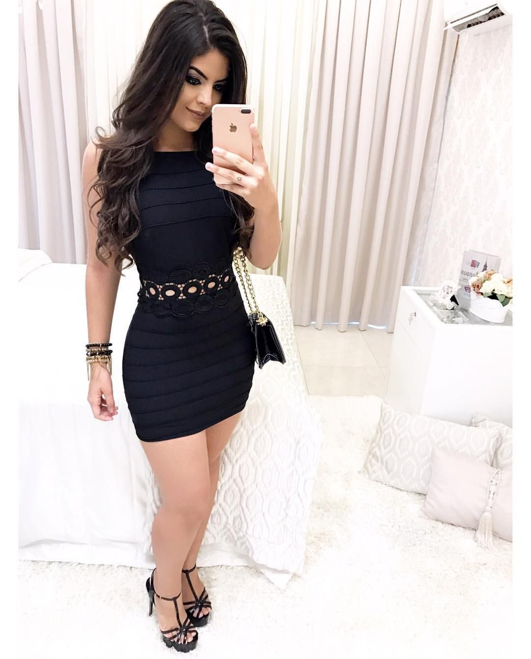 e4d85d449 Ver esta foto do Instagram de  lojagirlschick • 231 curtidas Vestido De  Festa Preto
