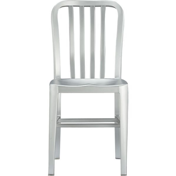 Delta Aluminum Dining Chair Reviews Crate And Barrel Metal Dining Chairs Aluminum Chairs Kitchen Chairs
