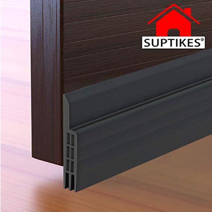 Door Draft Stopper Under Door Seal for Exterior/Interior