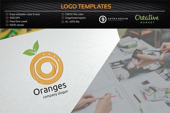 Orange Technology - Logo Temple @creativework247