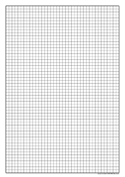 Graph Paper 5mm Knitting Printable graph paper, Graph paper