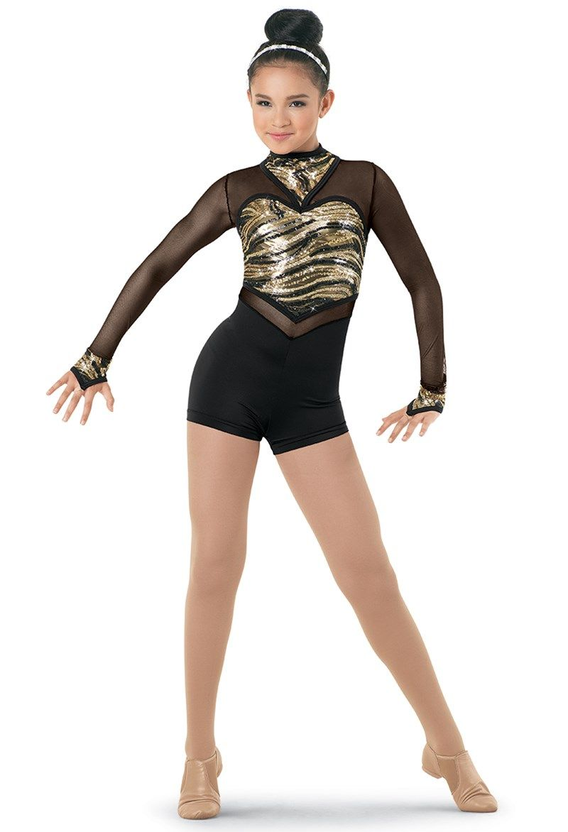 Girls Ladies Sleeveless Dance Leotard Metallic Lycra Modern Disco Costume Childs