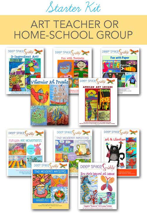 New Art Teacher & Home-School Starter Kit | Art Lessons