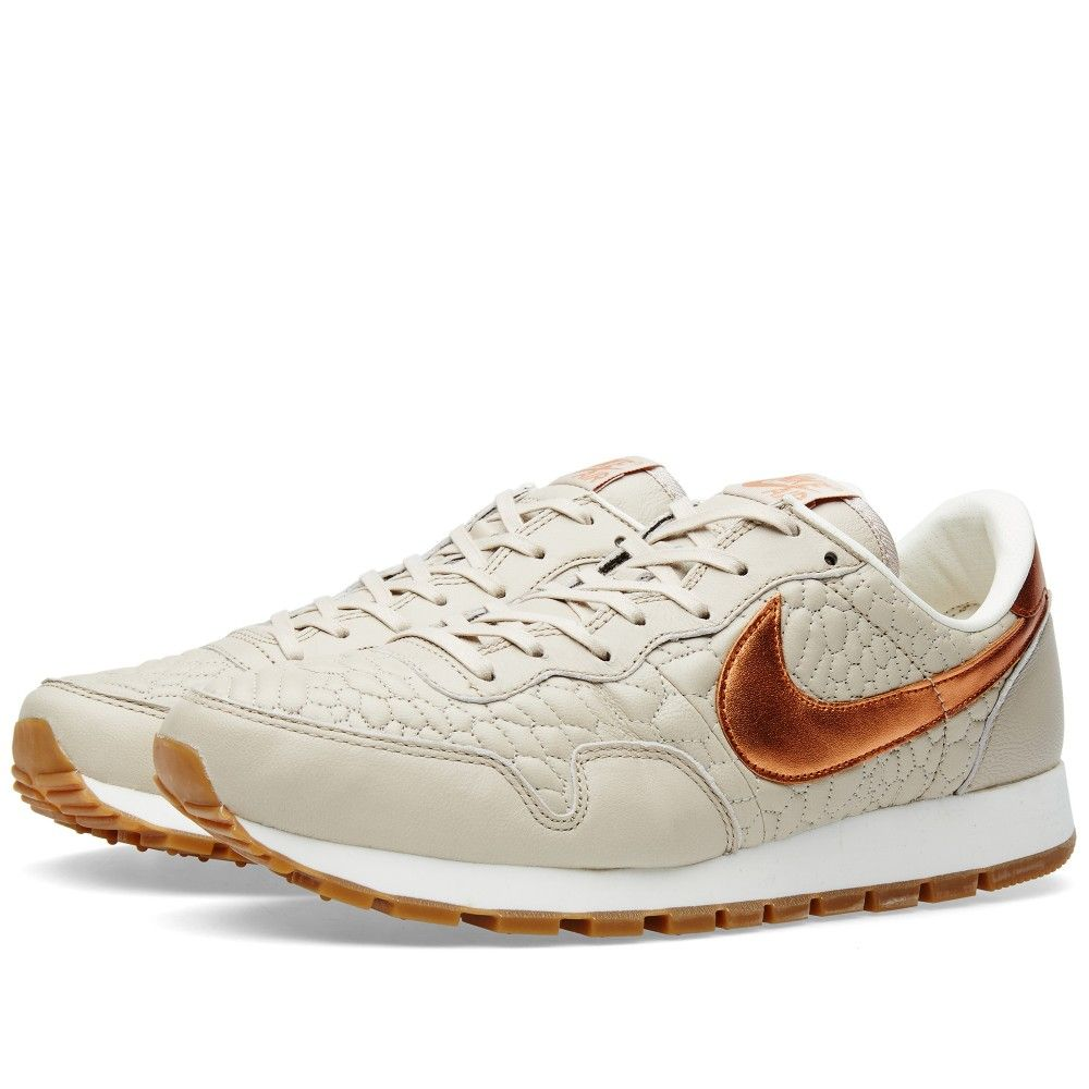Nike Metallic Red Bronze String Air Pegasus 83 W Premium Quilt Extremely Well For The Brand