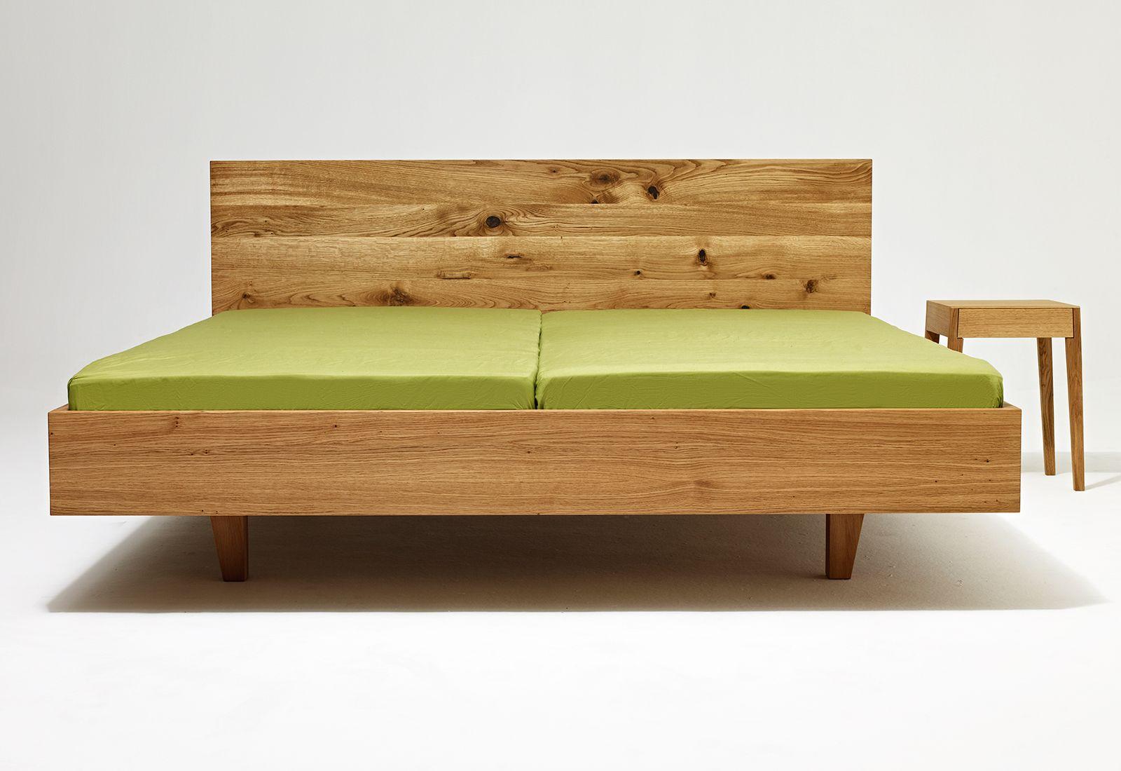 vollholzbett MAMMA wood sixay furniture designermöbel