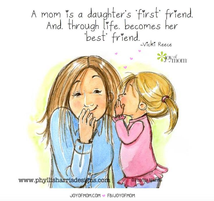 mother and daughter friendship quotes