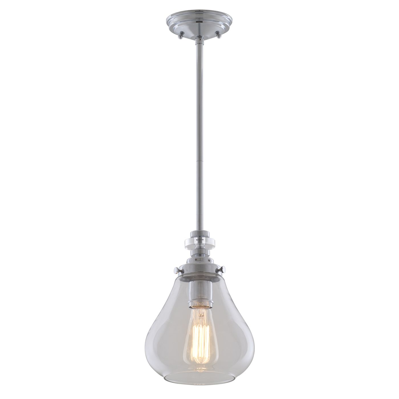Dvi Lighting Dvp14621ch Cl El Dorado Mini Pendant Lowe S