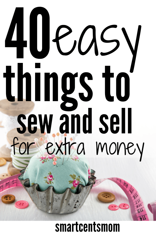 41 Easy Fabric Craft Ideas to Sell {2019} - Smart Cents Mom
