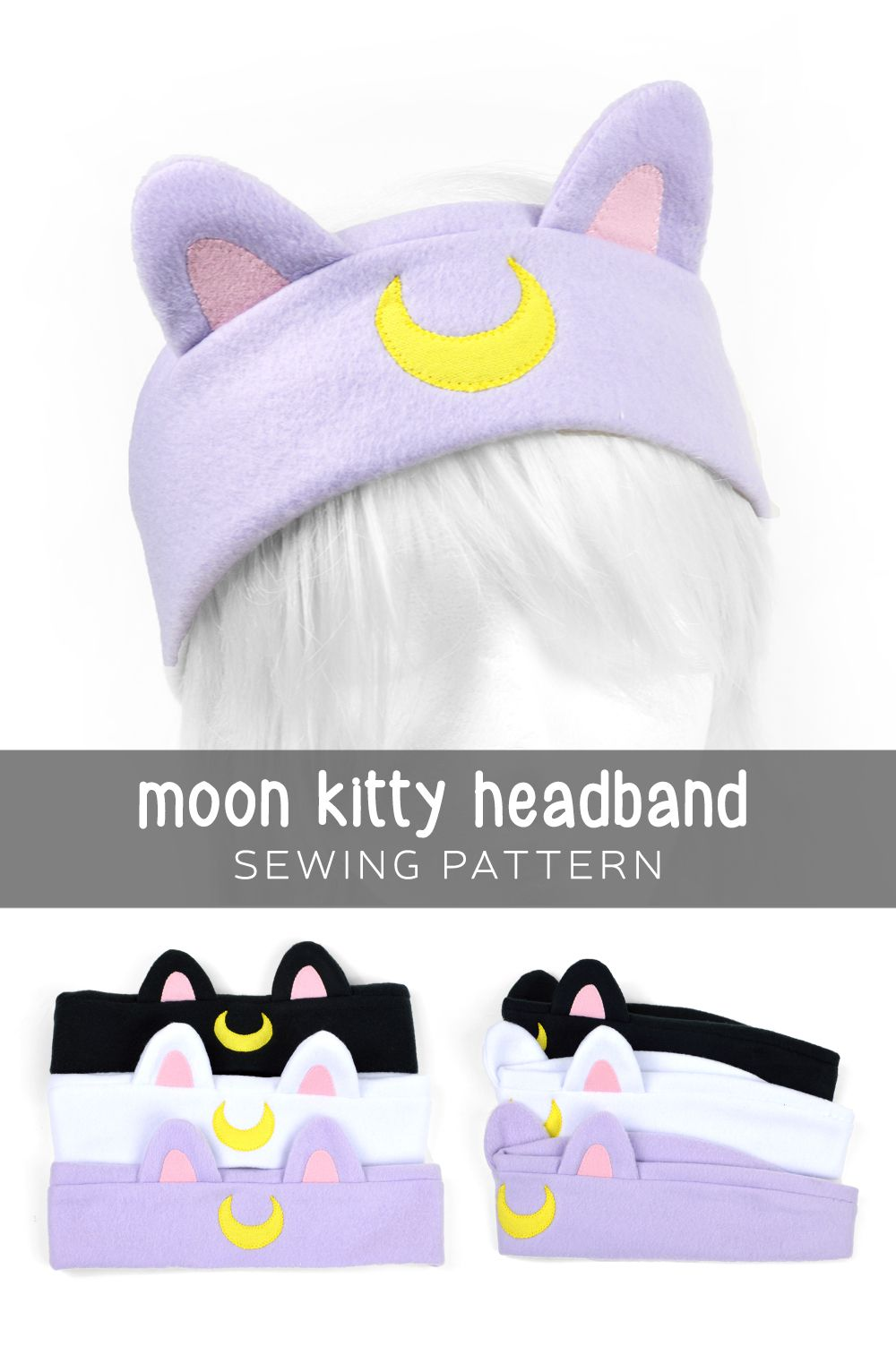 Moon kitty headband pattern for free sewing patterns moon kitty headband pattern for free jeuxipadfo Gallery