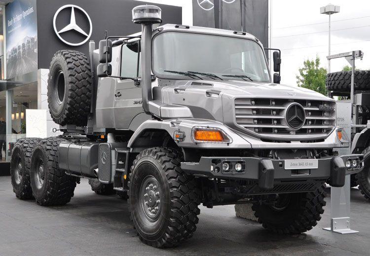Mercedes Benz Zetros 3643 6x6 Tractor 1 100 Mercedes Benz Zetros 3643 Rather Similar To This Mercedes Unimog Mercedes Benz Unimog Mercedes Benz Trucks