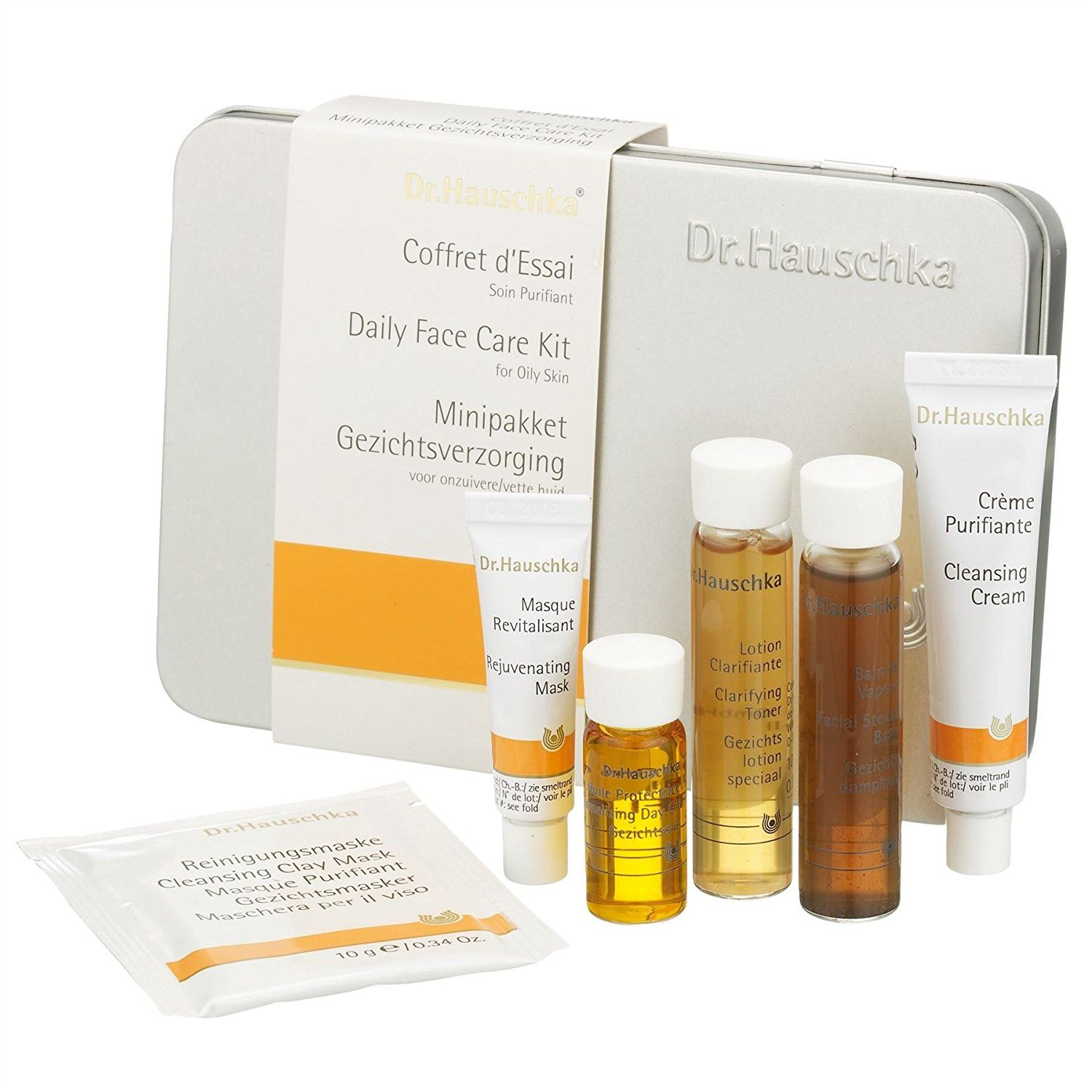 Dr Hauschka Daily Face Care Kit Oily Skin (PACK OF 6) Dr.Hauschka's Daily Face Care Kit for Oily Skin is a great introduction to the range for those  Read more http://cosmeticcastle.net/dr-hauschka-daily-face-care-kit-oily-skin-pack-of-6/  Visit http://cosmeticcastle.net to read cosmetic reviews