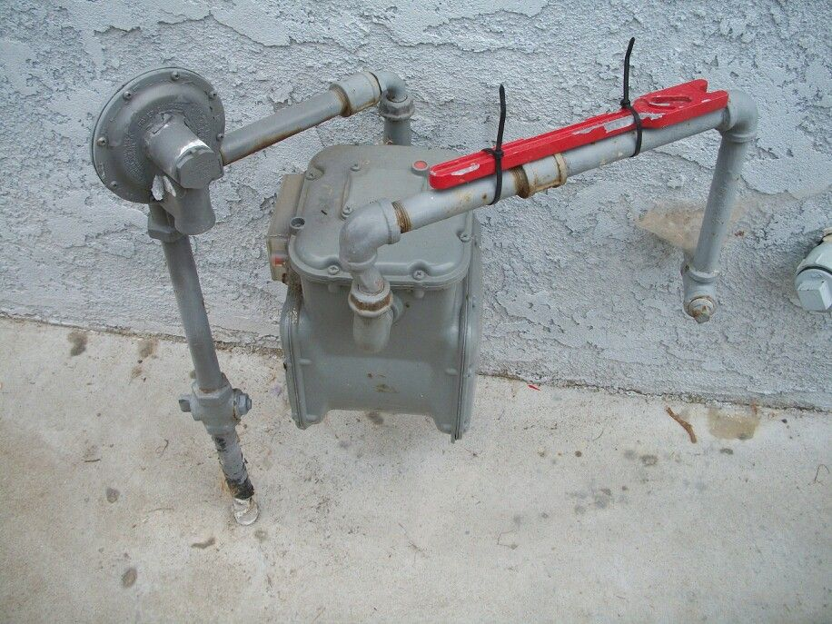 Know where your gas meter is and have a gas wrench available in case you have to turn off the gas.