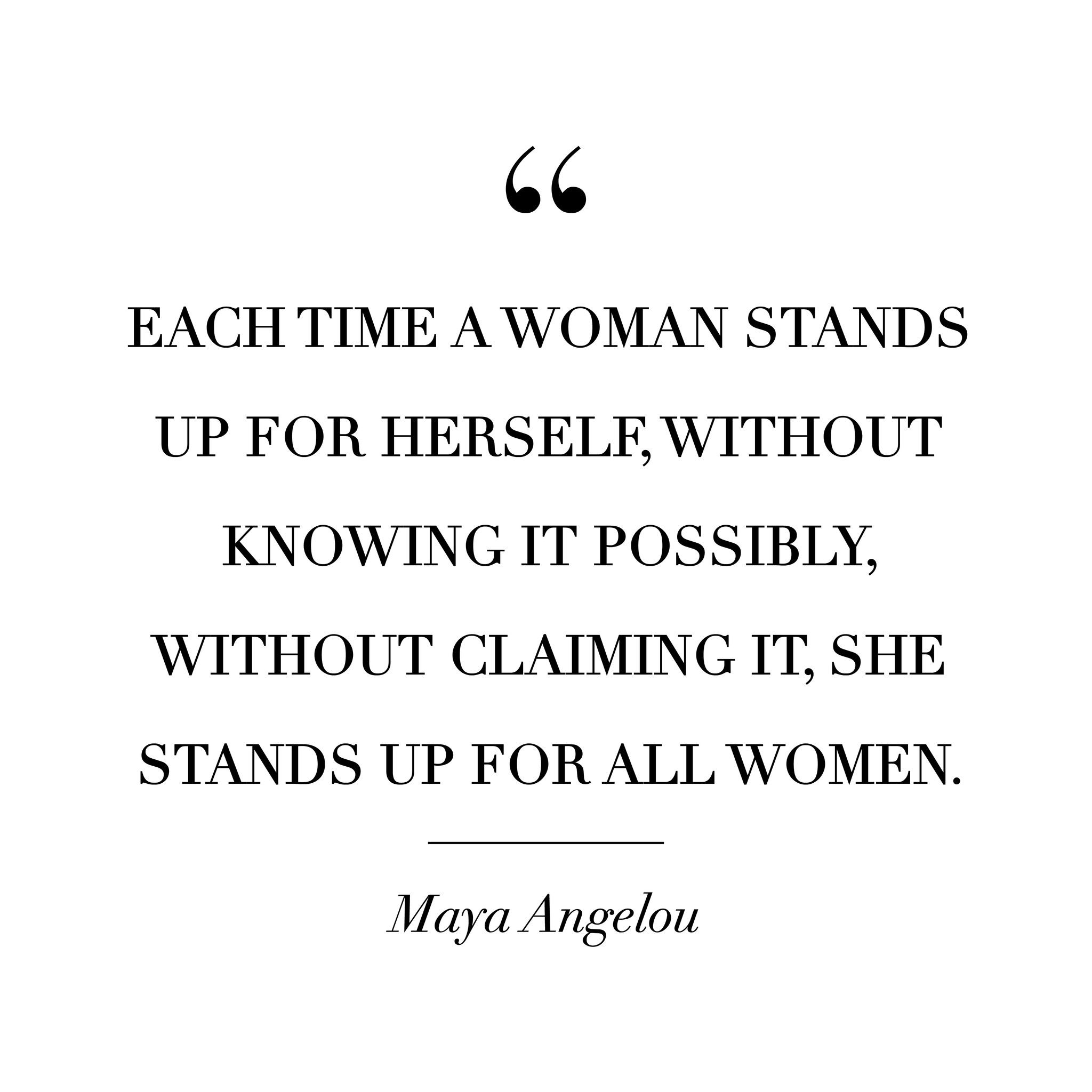 Inspirational Women Empowering Quotes