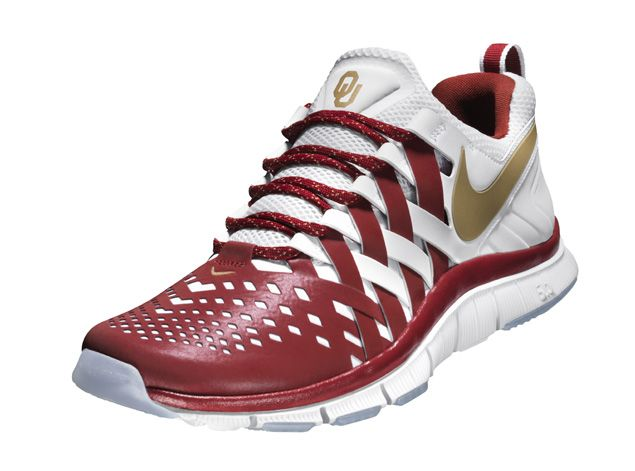 Nike Free Trainer 5.0 Oklahoma De Softball De Sooners