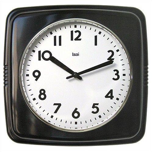 Cubist Retro Modern Wall Clock