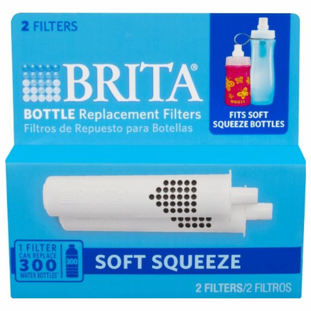 61f6b6b136 Brita Soft Squeeze Water Filter Bottle Replacement Filters, 2 Count - Join  the Pricefalls family - Pricefalls.com Online Marketplace & Stores