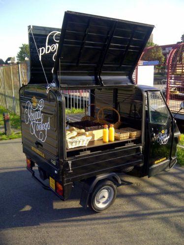piaggio ape 50 food trucks carts venders co essen. Black Bedroom Furniture Sets. Home Design Ideas