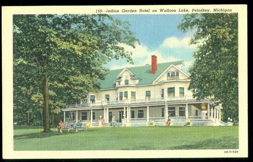 Indian Garden Resort Hotel, Walloon Lake, PETOSKEY, MI